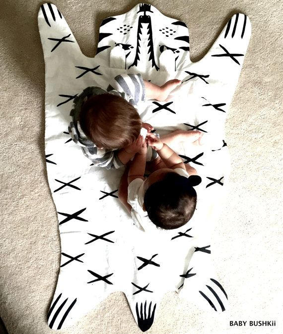 Tribal Bear Play Mat by BabyBushkii on Etsy