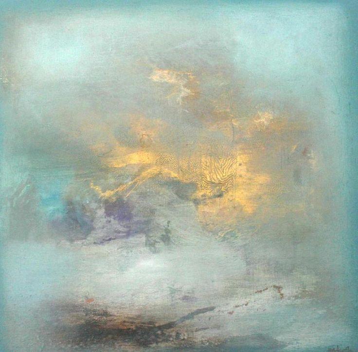 "Saatchi Online Artist: Henrie Haldane; GOLD 2013 Painting ""JADE"""