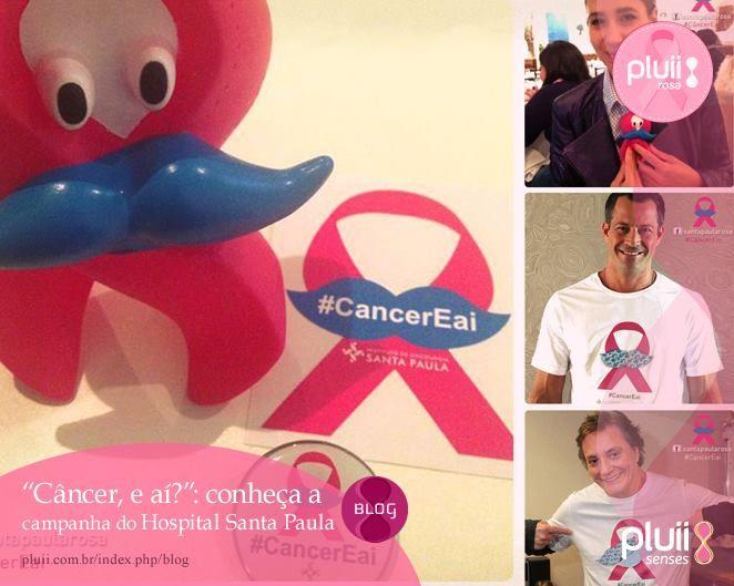 """O Instituto de Oncologia Santa Paula (IOSP) realizará nos meses de outubro e novembro a campanha """"Câncer, e aí?!"""", finalizando o #OutubroRosa e iniciando ações para o #NovembroAzul.  Saiba mais: http://www.pluii.com.br/?p=3215"""