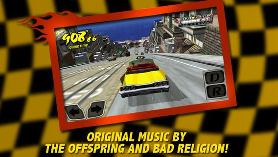 Top iPhone Game #135: Crazy Taxi - SEGA by SEGA - 03/24/2014