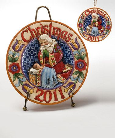 Look what I found on #zulily! 'Christmas 2011' Charger & Ornament Set #zulilyfinds