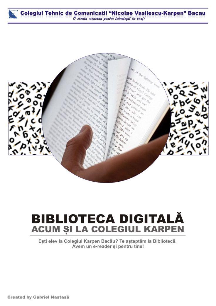 Biblioteca digitală (e-reader)