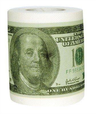 id e cadeaudemerde papier toilette dollar papier wc 100 dollar id es cadeau de merde. Black Bedroom Furniture Sets. Home Design Ideas