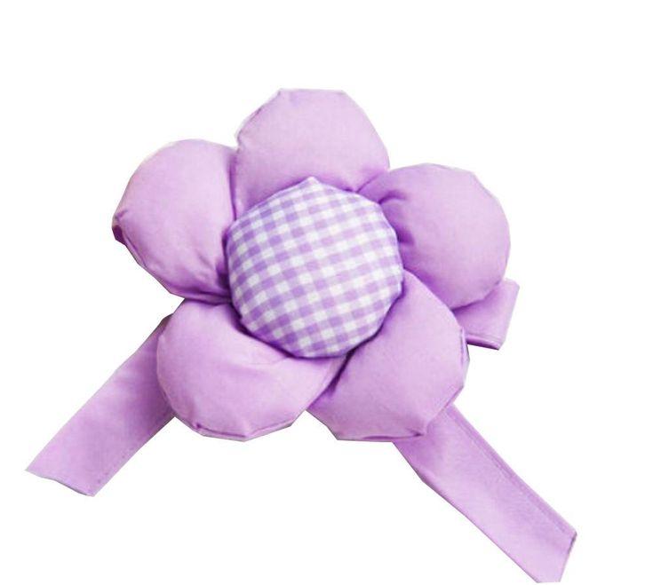 One Pairs Flower Curtain Tiebacks/Holdbacks Curtain Accessories Purple