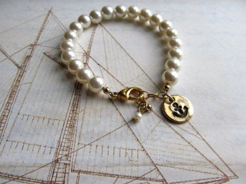 anchor and pearls <3