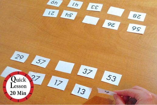 Multiple Turnover Game | Students identify whether their cards contain multiples of a given factor