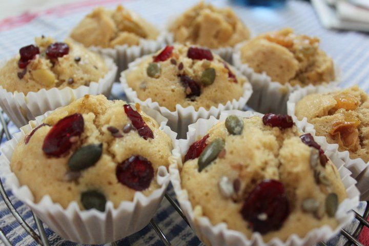 Steam Rice Cupcakes #Vegan #chinesenewyear traditional food