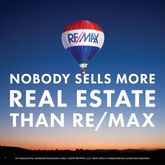 Nobody sells more real estate than RE/MAX! #remaxsooh