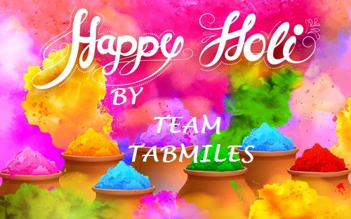 Have a Colorful and Joyful Holi (Tabmiles)  #workforce_management #management_tool #manage_clients #services #CRM_solution #attendence_management #payrolldata #expense_validation #businesstool #trackdata #teamwork #mobileapplication #cloudbasedsolution #track_employees_activities #manage_employees #field_working_management #order_punching_app