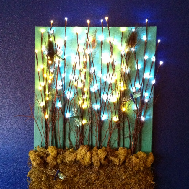 Backlit Wall Art Diy