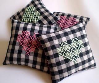 cross-stitch + gingham