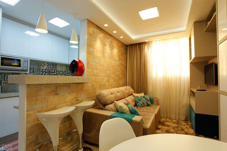 Apartamento de apenas 37 m² tem dois confortáveis dormitórios - Casa