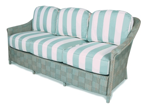 Elegant Lloyd Flanders Calypso Sofa Replacement Cushions