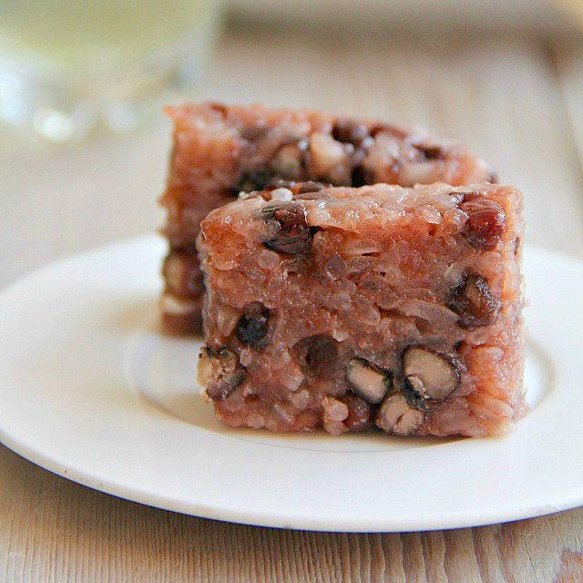 Korean red bean cake recipe