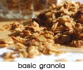 Simple Granola recipe -- gluten free if made with gf oats