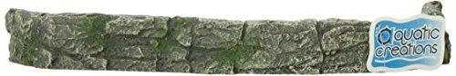 12.9 x 5.3 x 1.6 inches $10- Aquatic Creations Grey Green Landscape Wall Aquarium Ornament Aquatic Creations http://www.amazon.com/dp/B001OE73CE/ref=cm_sw_r_pi_dp_8fmFvb19KHWNC