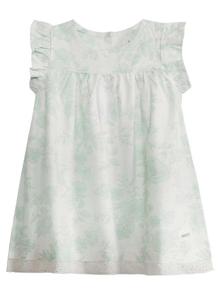 Blommönstrad klänning till baby - Shoppa online & i butik hos KappAhl!