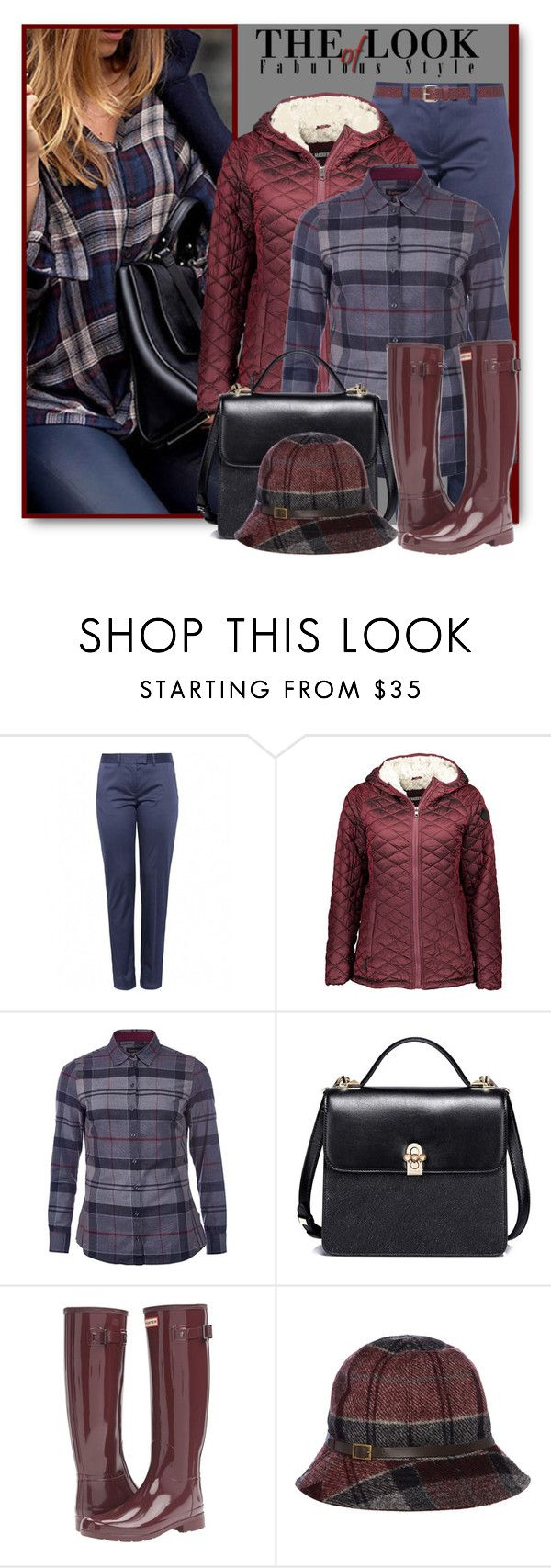 """Perfect Puffer Jackets"" by brendariley-1 ❤ liked on Polyvore featuring Farhi by Nicole Farhi, Steve Madden, Barbour, Hunter, M&Co and puffers"