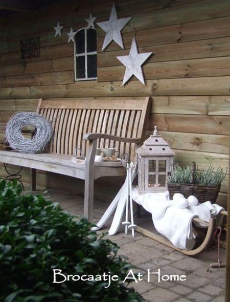 Kerst in de tuin