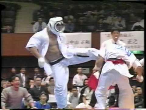 大道塾 '96北斗旗空手道選手権大会(無差別級)(2/5) セーム・シュルト ...