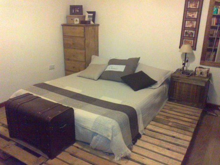 98 best palets camas images on pinterest - Camas de palets ...