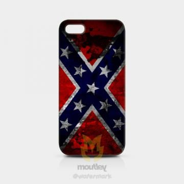 Confederate Flag iPhone 5/5s Hardcase by moutley for $14.00