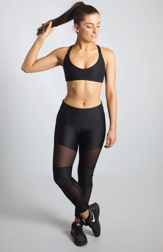 Women's activewear // Australian Made // Monochrome Luxe Athleisure // Squast Proof // Compression // Sporteluxe