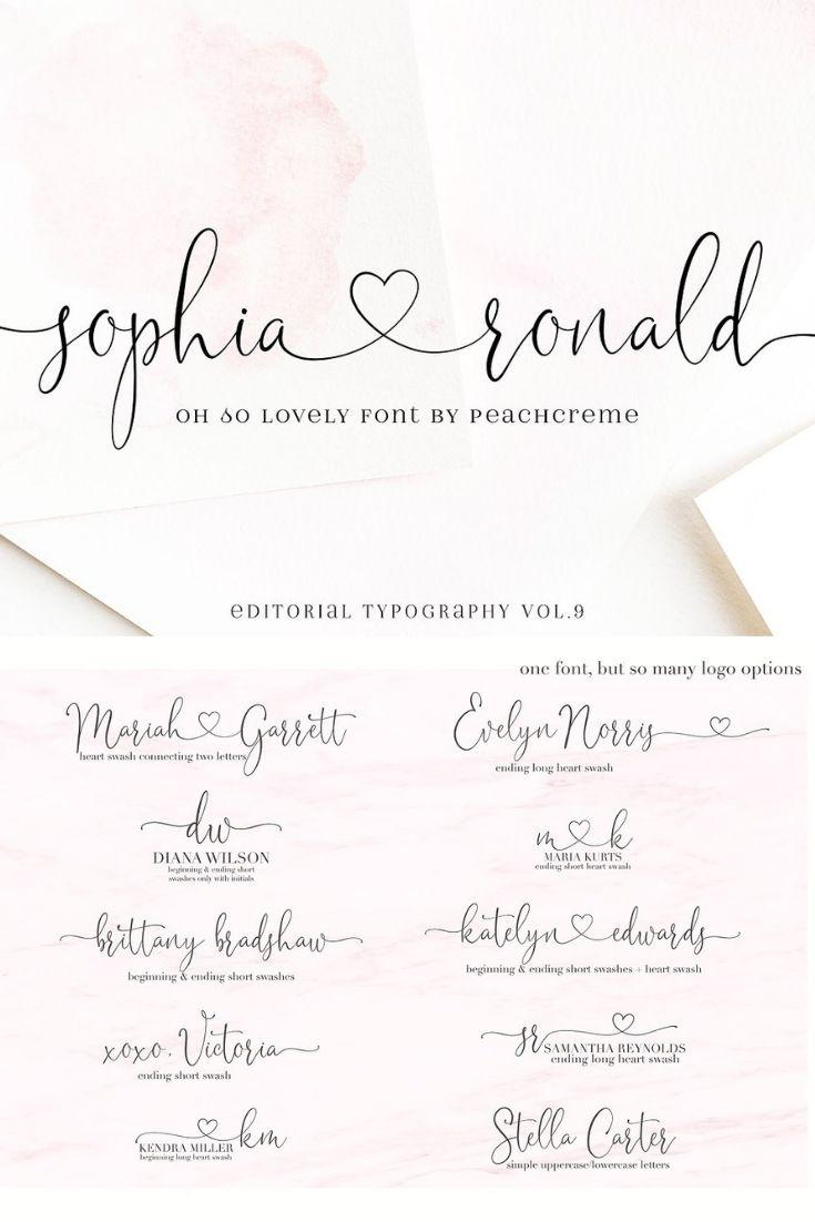 have heart script font free download