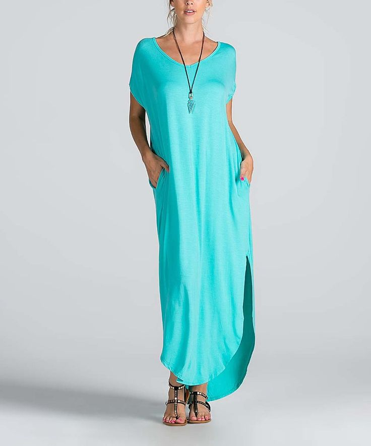Take a look at this Mint Maxi Dress today!