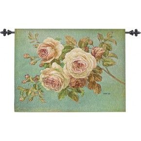 Flower Market Tapestry Wall Hanging