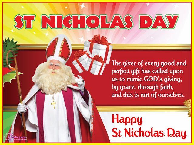 st nicholas day poems saint nicholas day wishes quotes. Black Bedroom Furniture Sets. Home Design Ideas