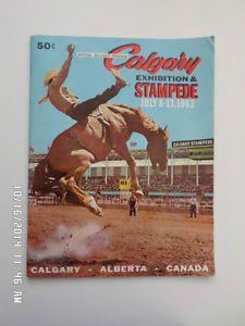Calgary Stampede Poster 1963