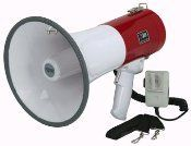 50 Watt Megaphone Bullhorn Professional 50w  //Price: $ & FREE Shipping //     #sports #sport #active #fit #football #soccer #basketball #ball #gametime   #fun #game #games #crowd #fans #play #playing #player #field #green #grass #score   #goal #action #kick #throw #pass #win #winning