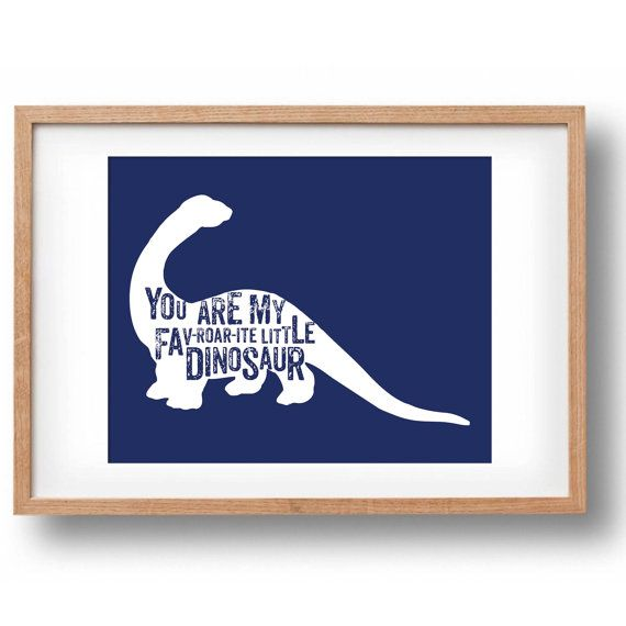 Dinosaur silhouette set printable by poppylovestogroove on Etsy