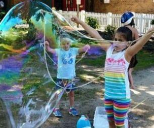 Giant Bubble Wand and Giant Bubble Solution | Macaroni Kid
