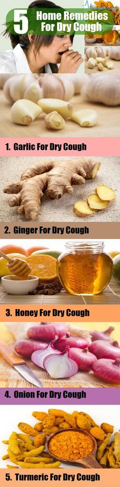 5 Home Remedies For Dry Cough
