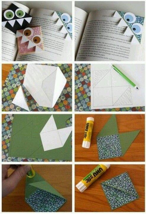 Cute diy bookmarks