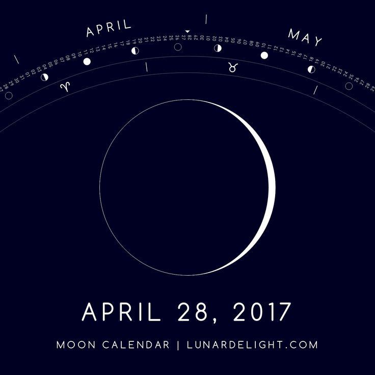 Friday, April 28 @ 02:25 GMT  Waxing Crescent - Illumination: 4%  Next Full Moon: Wednesday, May 10 @ 21:43 GMT Next New Moon: Thursday, May 25 @ 19:46 GMT