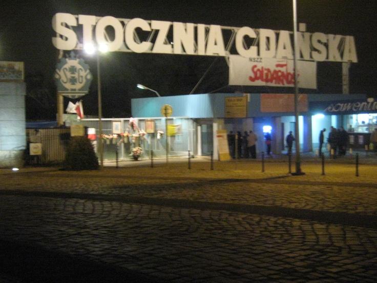 Gate of the Gdansk Shipyard