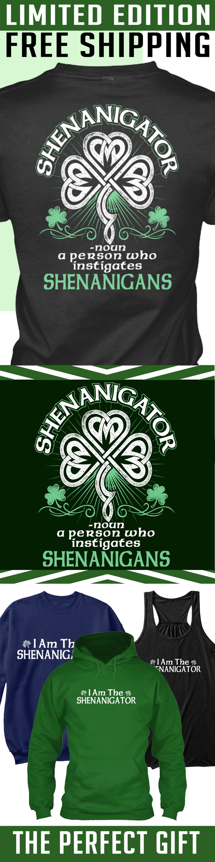 Irish Limited Edition - Limited Edition. Only 2 days left for free shipping, get it now!