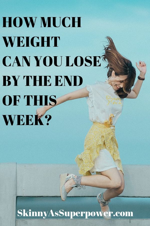 How Much Time Is Needed To Lose How Much Weight Skinny As