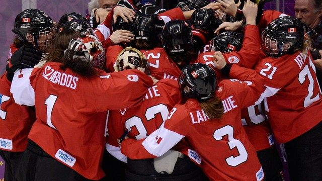 Major comeback! Thanks NBC analysts!! Canada wins GOLD in OT