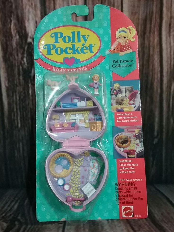 VINTAGE Polly Pocket compact pet parade collection KOZY KITTIES NIP 10631 1994 | Dolls & Bears, Dolls, By Brand, Company, Character | eBay!