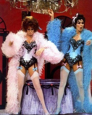 CHER AND BETTE MIDLER...
