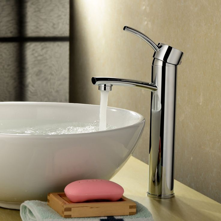 8 best Chrome Vessel Faucets images on Pinterest | Vessel faucets ...