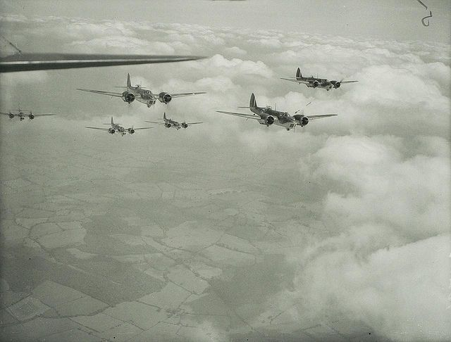 World War II Bristol Blenheim Mk IVs, via Flickr.