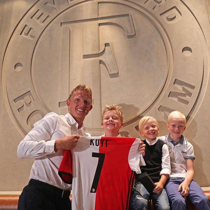 Vader en trotse zoons!  Dirk Kuyt