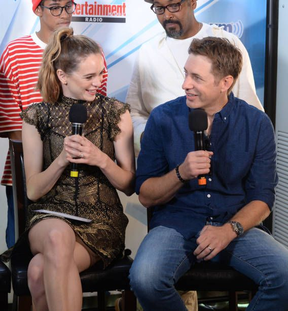 SAN DIEGO, CA - JULY 22: Danielle Panabaker and Greg Berlanti attend SiriusXM's...