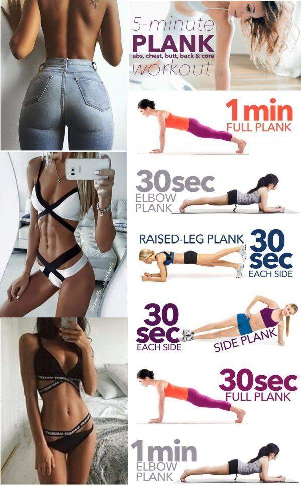Plank! Ćwiczenia na całe ciało! :) 6 ćwiczeń …