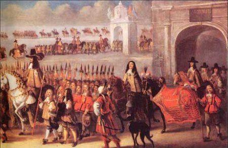 coronation procession of charles ii - Google Search